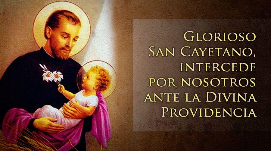 Oraciones A San Cayetano Santuario De San Cayetano
